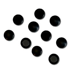 Magneet Zwart 10 st.