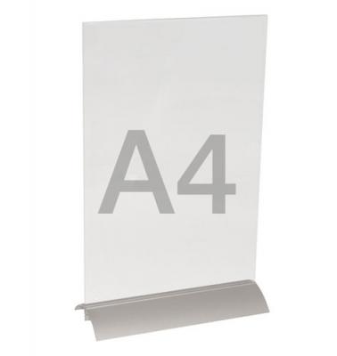 menuhouder a4 met alu-voet