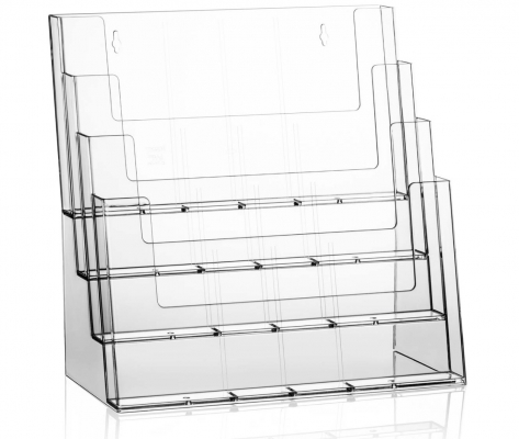 Folderhouder 4 x A4 liggend