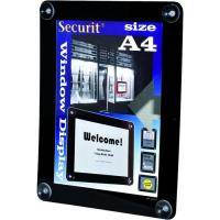 securit raamdisplay a4 zwart