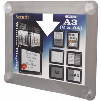 securit raamdisplay a3 grijs