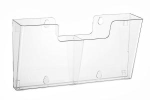 Wandfolderhouder koppelbaar 2x A5 (4 stuks)